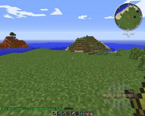 BiomeChecker для Minecraft