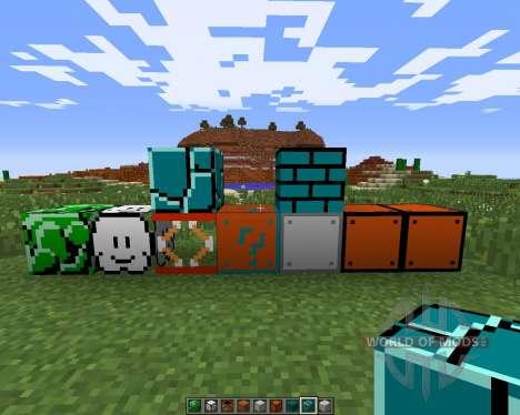 Super Mario для Minecraft