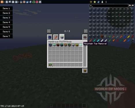 Too Much TNT для Minecraft