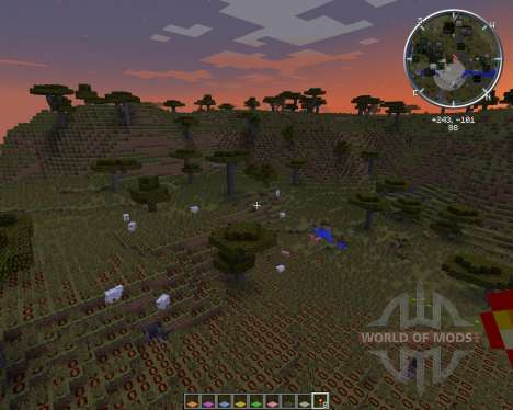 Light Level Overlay Reloaded для Minecraft