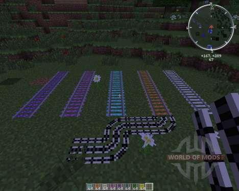 Expanded Rails для Minecraft