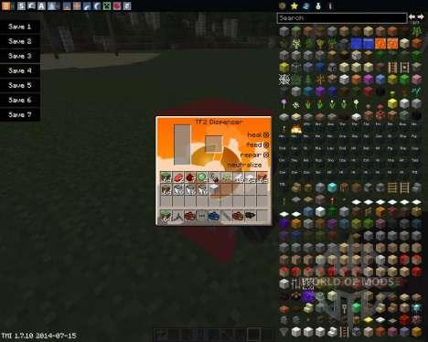 Team Fortress 2 для Minecraft