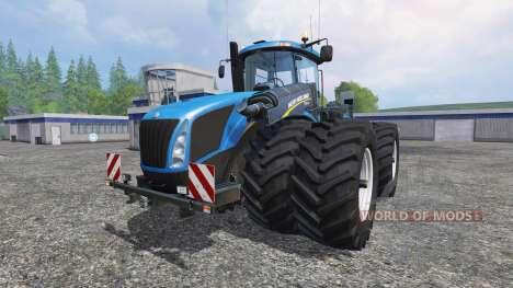 New Holland T9.560 with dynamic twin wheels для Farming Simulator 2015