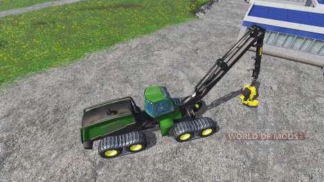 John Deere 1270E v3.0 для Farming Simulator 2015