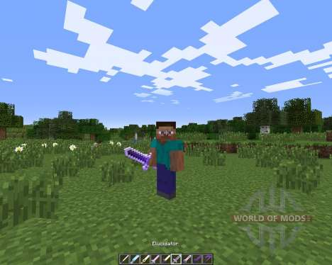 Cartoon Weapons для Minecraft