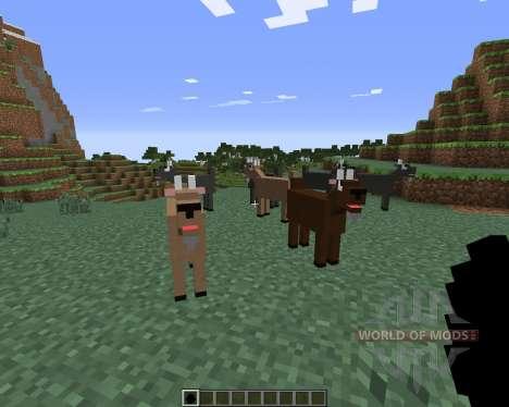 Goat для Minecraft