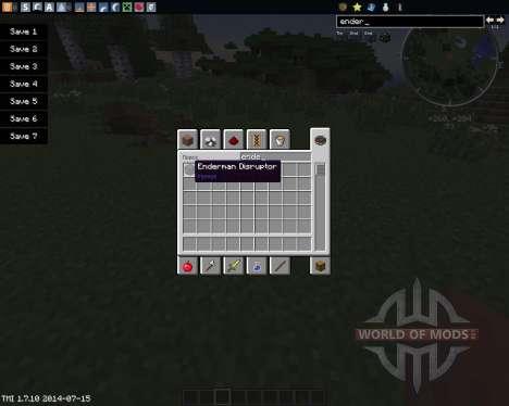 Enderman Disruptor для Minecraft