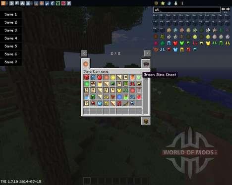 Slime Carnage для Minecraft