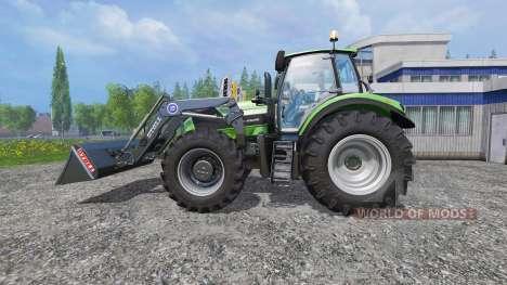 Deutz-Fahr Agrotron 7250 v2.2 Frontlader для Farming Simulator 2015
