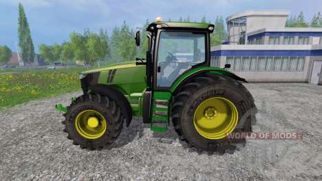 John Deere 7310R v2.1 для Farming Simulator 2015