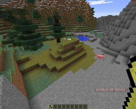 Biome Wand для Minecraft