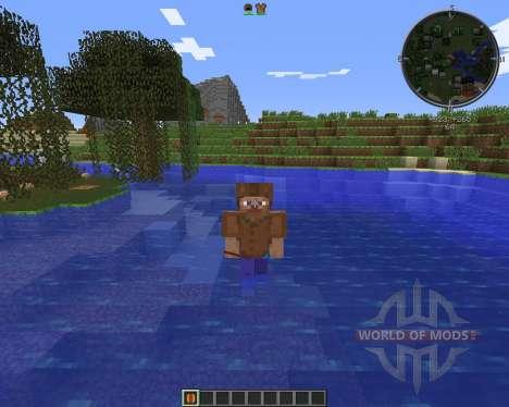 Floaty Armor для Minecraft