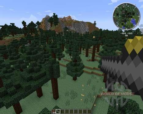 Potato Gun для Minecraft