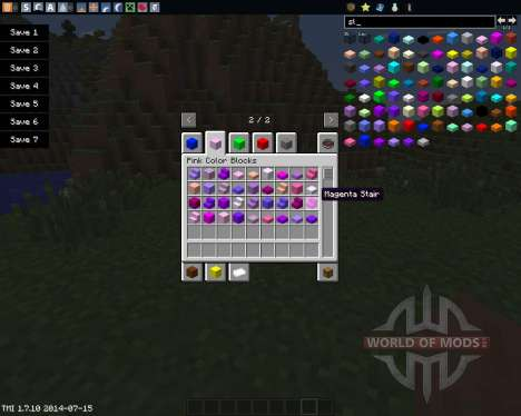 Color Blocks для Minecraft