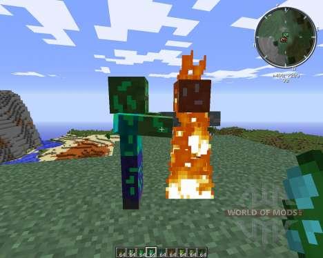 Ore Zombies для Minecraft