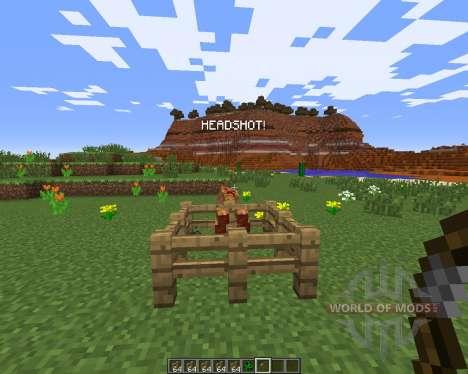 Headshot для Minecraft