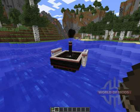 SteamBoat для Minecraft