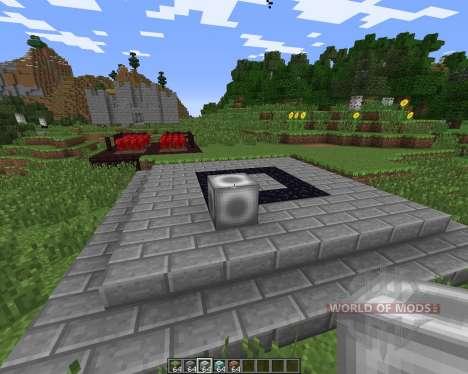 Clearing Block для Minecraft