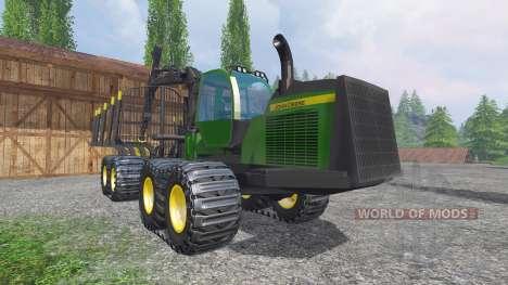 John Deere 1910E для Farming Simulator 2015
