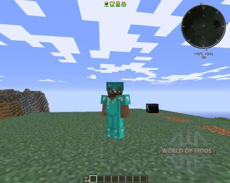 Cosmetic Armor для Minecraft