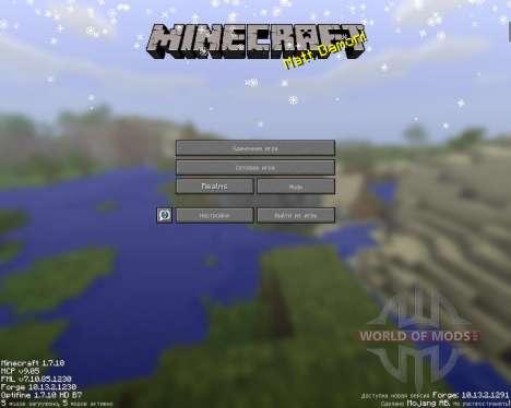 SnowTime для Minecraft
