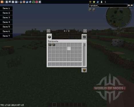 Randomite для Minecraft