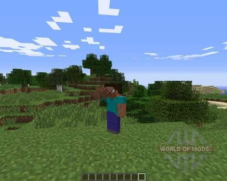 Emotes для Minecraft