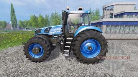 New Holland T8.320 620EVOX blue v1.1 для Farming Simulator 2015