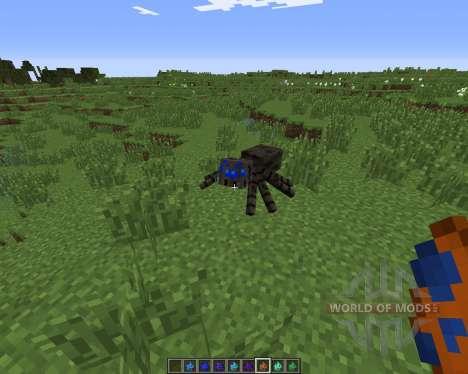 Much More Spiders для Minecraft