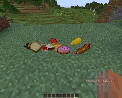 Food Plus для Minecraft