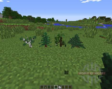 BigTrees для Minecraft