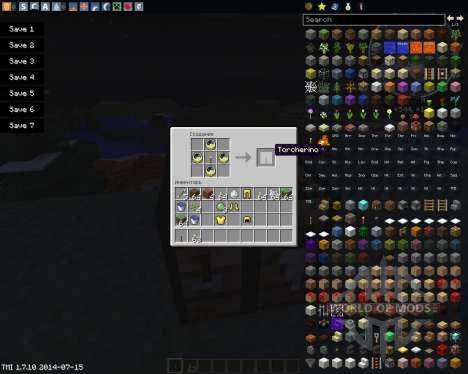 Torcherino для Minecraft