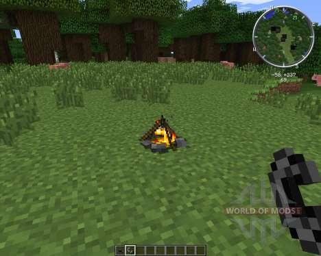 MC FirePit для Minecraft