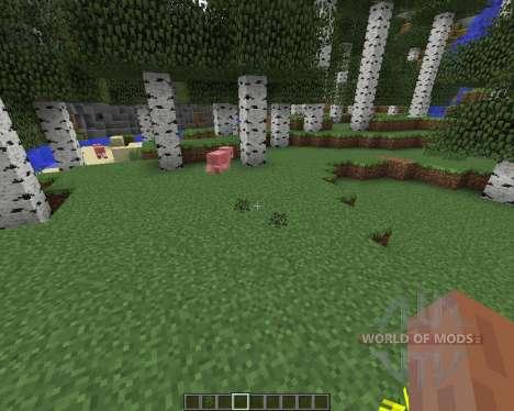 Nature Overhaul для Minecraft