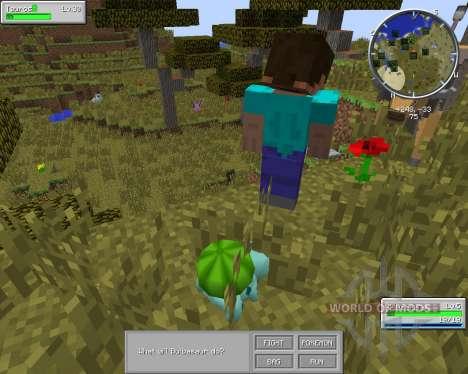 Pixelmon для Minecraft