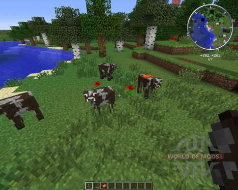 Rideable Cows для Minecraft
