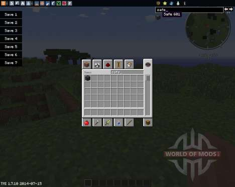 Safe для Minecraft