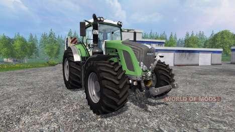 Fendt 933 Vario Green для Farming Simulator 2015