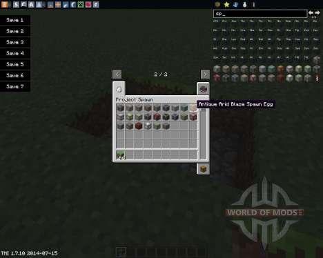 Project Spawn для Minecraft