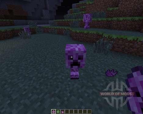Female Creepers для Minecraft