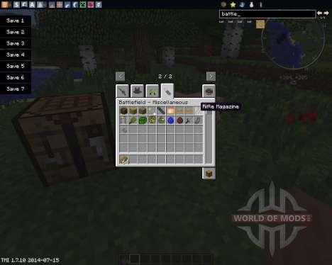 Battlefield для Minecraft