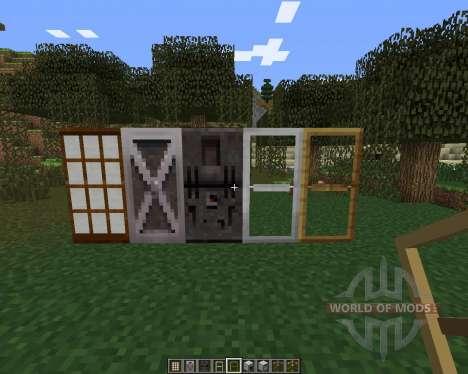 MalisisDoors для Minecraft