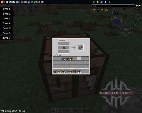 Blocks to Items для Minecraft