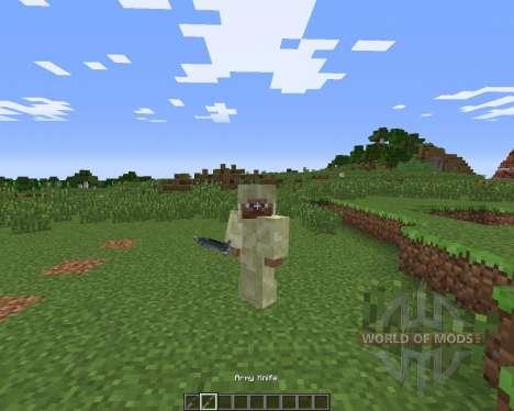 WarStuff для Minecraft