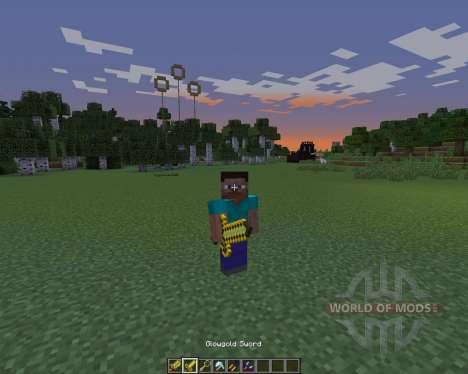 CST7 Weapons для Minecraft