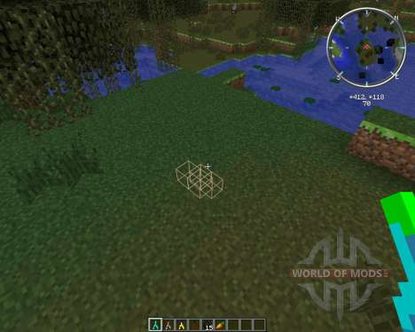 Ore Dowsing для Minecraft