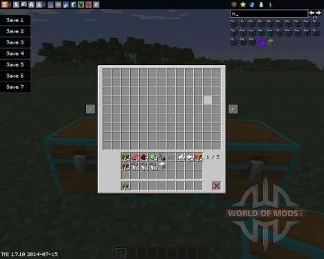 Multi Page Chest для Minecraft