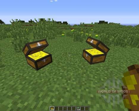 Treasure Chest для Minecraft