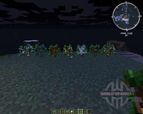 TreeOres для Minecraft