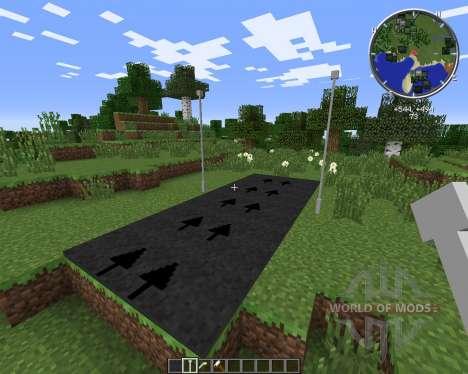 Roads для Minecraft